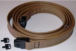 Hurricane strap, stormband voor jacuzzi, kleur tan