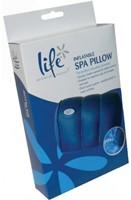 Spa pillow, opblaasbaar hoofdkussen met zuignappen-3