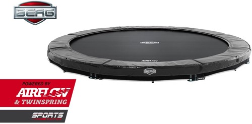 BERG inground trampoline Elite, diam. 430 cm.-2