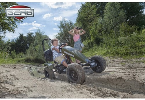BERG skelter Jeep Revolution - BFR-3 frame-3