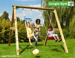 Houtpakket voor Jungle Swing, op maat gemaakt