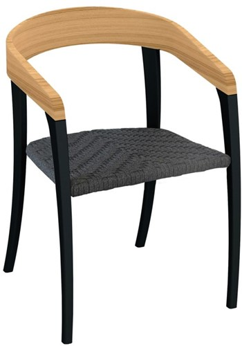 Royal Botania Jive stoel - Antraciet