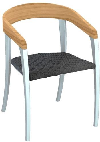 Royal Botania Jive stoel - Wit