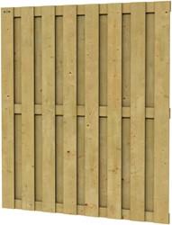Hillhout Jumbo tuinscherm, afm. 200 x 180 cm, geïmpregneerd vuren