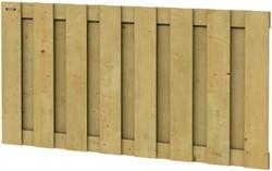 Hillhout Jumbo tuinscherm, afm. 90 x 180 cm, geïmpregneerd vuren