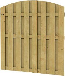 Hillhout Jumbo toogscherm, afm. 180 x 165/180 cm, geïmpregneerd vuren