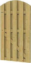 Hillhout tuindeur Jumbo, afmeting 100 x 180 cm, geïmpregneerd vuren, toog