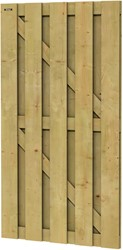 Hillhout tuindeur Jumbo, afm. 100 x 180 cm, geïmpregneerd vuren