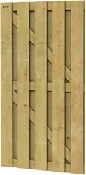 Hillhout tuindeur Jumbo deur, afm.100  x 200 cm, geïmpregneerd vuren