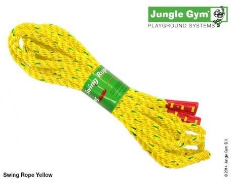 Jungle Gym schommeltouw, geel, 5 meter