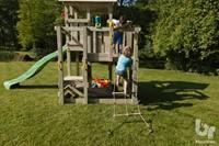 Blue Rabbit 2.0 - toren 'penthouse', incl. houtpakket en glijbaan-3