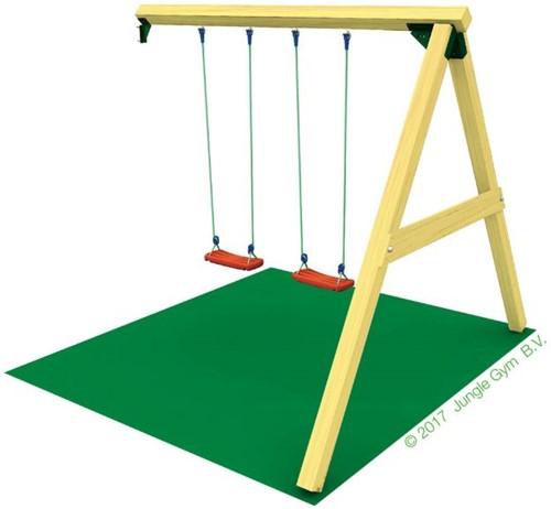 Houtpakket voor Jungle Gym Swing Module (X'tra), niet op maat gezaagd-2