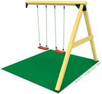 Jungle Gym Swing Module Duo, inclusief houtpakket-2