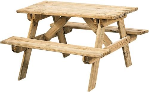 Kinderpicknicktafel, bladmaat 90 x 38 cm, geimpregneerd grenen, houtdikte 30 mm