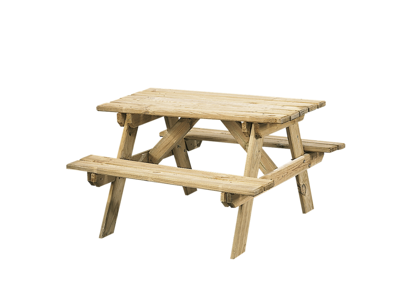 SenS-Line Kinderpicknicktafel, bladmaat 90 x 38 cm, geimpregneerd grenen, houtdikte 30 mm