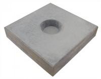 Knikkertegel, afm. 30 x 30 cm, beton