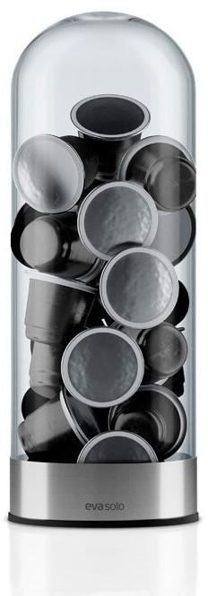 eva solo dispenser voor koffiecapsules glas bij kuhlkamp. Black Bedroom Furniture Sets. Home Design Ideas