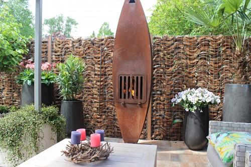 KokoHusk tuinscherm, afm. 120 x 180 x 7 cm