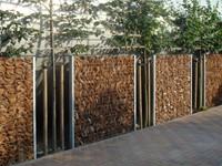 KokoHusk tuinscherm, afm. 180 x 120 x 7 cm-1