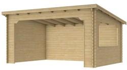 blokhut Kolgans 400 x 350 cm