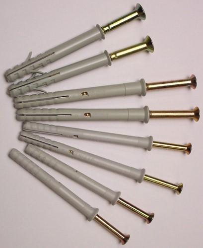 Kozijnplug, diam.10 mm, lengte 115 mm
