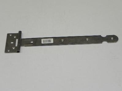 rustiek kruishengsel, zwart gepoedrcoat 400 mm