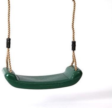 Schommelzitje, groen kunststof