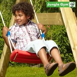 Jungle Gym schommelzitje, rood kunststof