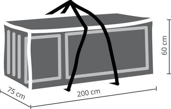 Kussen 200 X 60.Distri Cover Kussentas Afm 200 X 75 X 60 Cm Bij Kuhlkamp