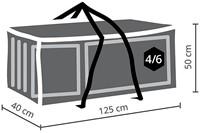 Distri-Cover kussentas, afm. 125 x 40 x 50 cm