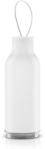 Eva Solo lantaarn, diam. 7,5 cm, hoogte 20 cm,  matglas wit
