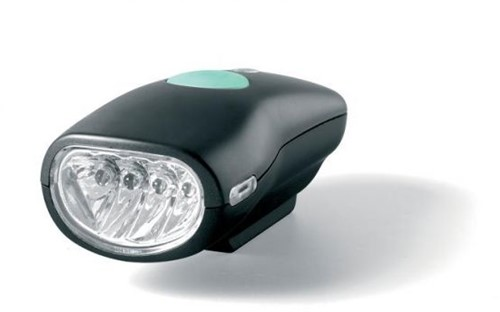 BERG LED koplamp, zwart