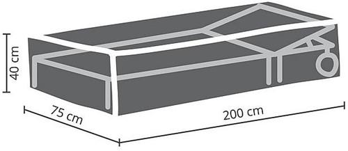 Distri-Cover beschermhoes ligbed, afm. 200 x 75 x 40 cm-2