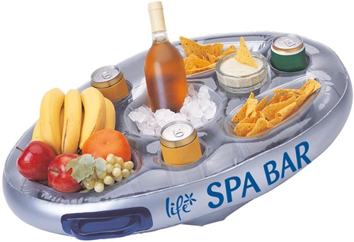 Floating spa bar, diam. 70 cm, opblaasbaar