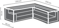 Distri-Cover loungesethoes L-hoek, afm. 250/90 x 250/90 x 70 cm-2