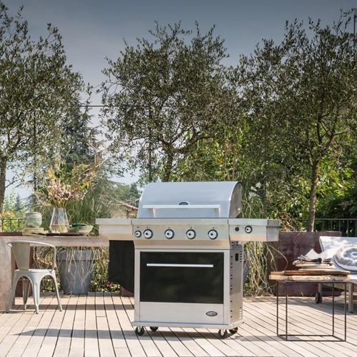 Boretti gasbarbecue Maggiore, rvs-2