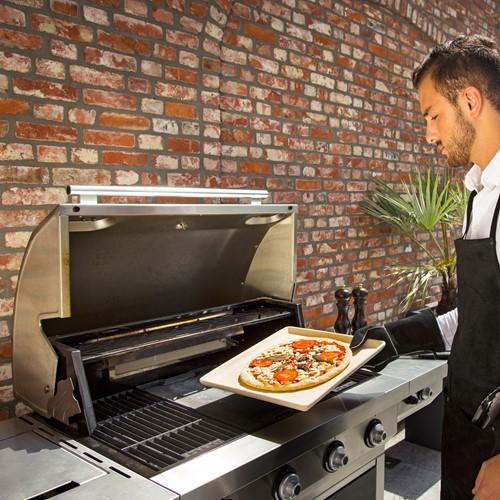 Boretti gasbarbecue Maggiore, rvs-3