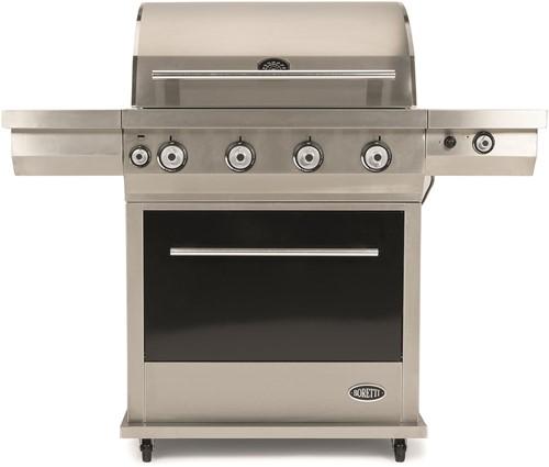 Boretti gasbarbecue Maggiore, rvs