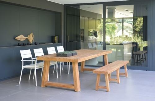 Max& Luuk Thomas table 240x100x76 cm teak, showmodel