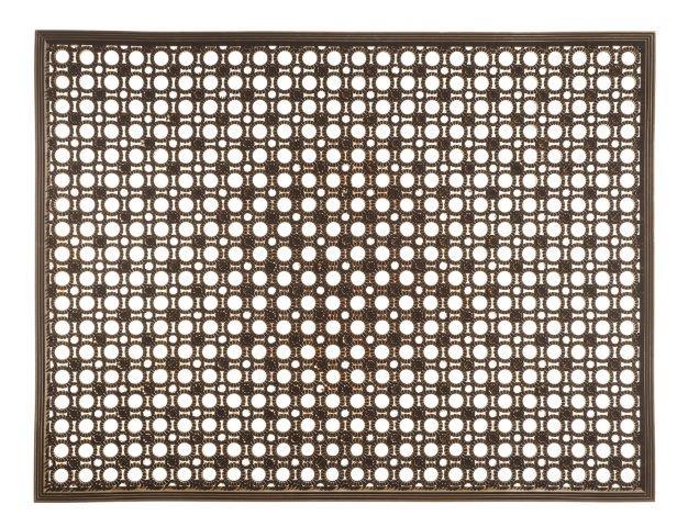 MD-Entree deurmatten Deurmat Lizzy, afm. 48 x 62 cm, bruin