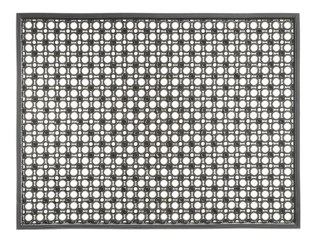 MD-Entree deurmatten Deurmat Lizzy, afm. 48 x 62 cm, grijs