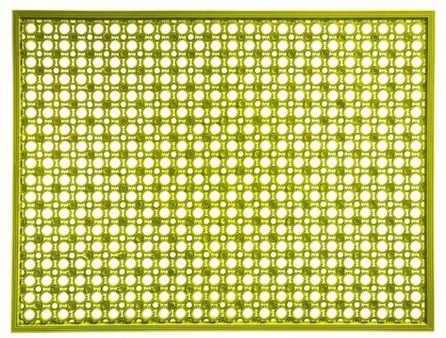 Deurmat Lizzy, afm. 48 x 62 cm, lime