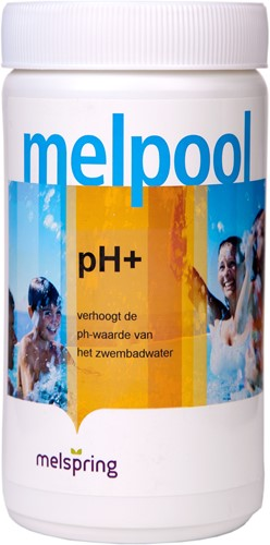 pH+, voor verhogen van  pH-waarde van water in jacuzzi, 1 kg