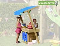 Houtpakket voor Jungle Gym Mini Market module, op maat gezaagd