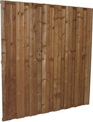 Tuinscherm, 15-planks, afm. 180 x 180 cm, modiwood