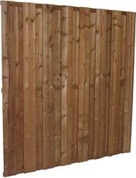 Tuinscherm, 15-planks, afm. 180 x 180 cm, modiwood