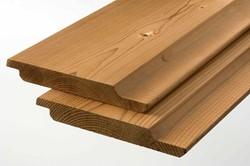 Komo rabat/gg-delen, afm.  1,9 x 14,2 cm, lengte 270 cm, modiwood
