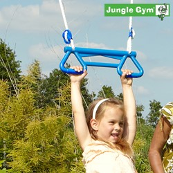 Jungle Gym Monkey bar kit, blauw kunststof