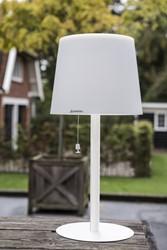Gacoli tuinlamp Monroe Table WIT, hoogte 65 cm