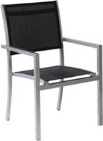 Tuinset Moon: Star tafel  afm.160 x 100 cm, 4 Moon stoelen, op=op-2
